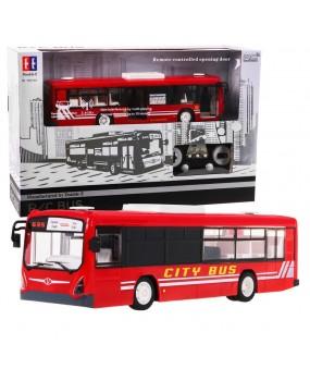 Autobus na diaľkové ovládanie R / C 2,4 G 1:20 červený